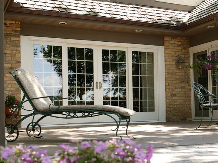 French Patio Doors, Sliding French Doors - Renewal by Andersen on glass french doors exterior, 4 panel doors exterior, white french doors exterior,