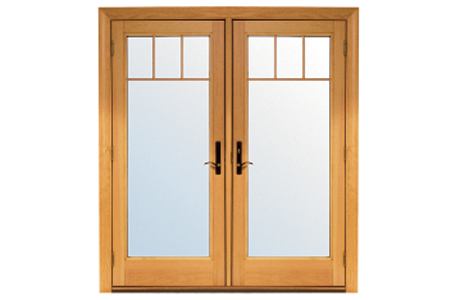 French doors exterior french doors renewal by andersen for Single swing patio door