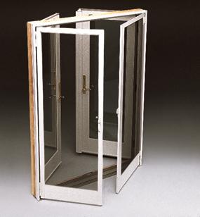 Double Hinged Patio Door Screen